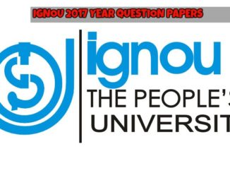 IGNOU Previous Year Question Papers