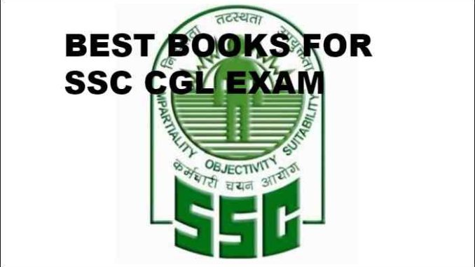 best books for SSC CGL exam