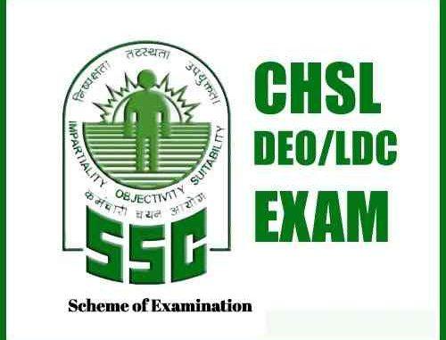 SSC CHSL Scheme of Examination