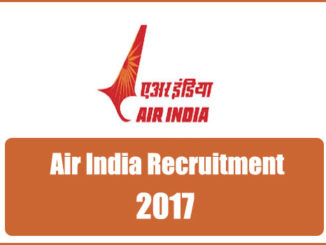 Air India Liamited Recruitment 2017