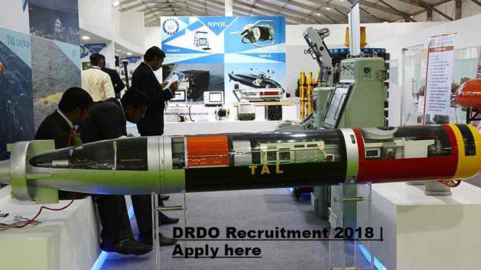 DRDO JRF Recruitment