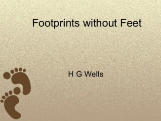 Footprints without Feet Summary
