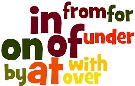 types of preposition