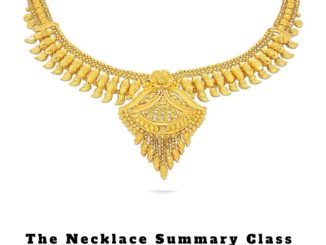 The Necklace Summary Class 10