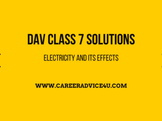 Electricity And Its Effects Solutions